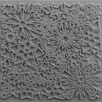 Cernit Cernit Texture Plate 9 X 9 cm - Constellation