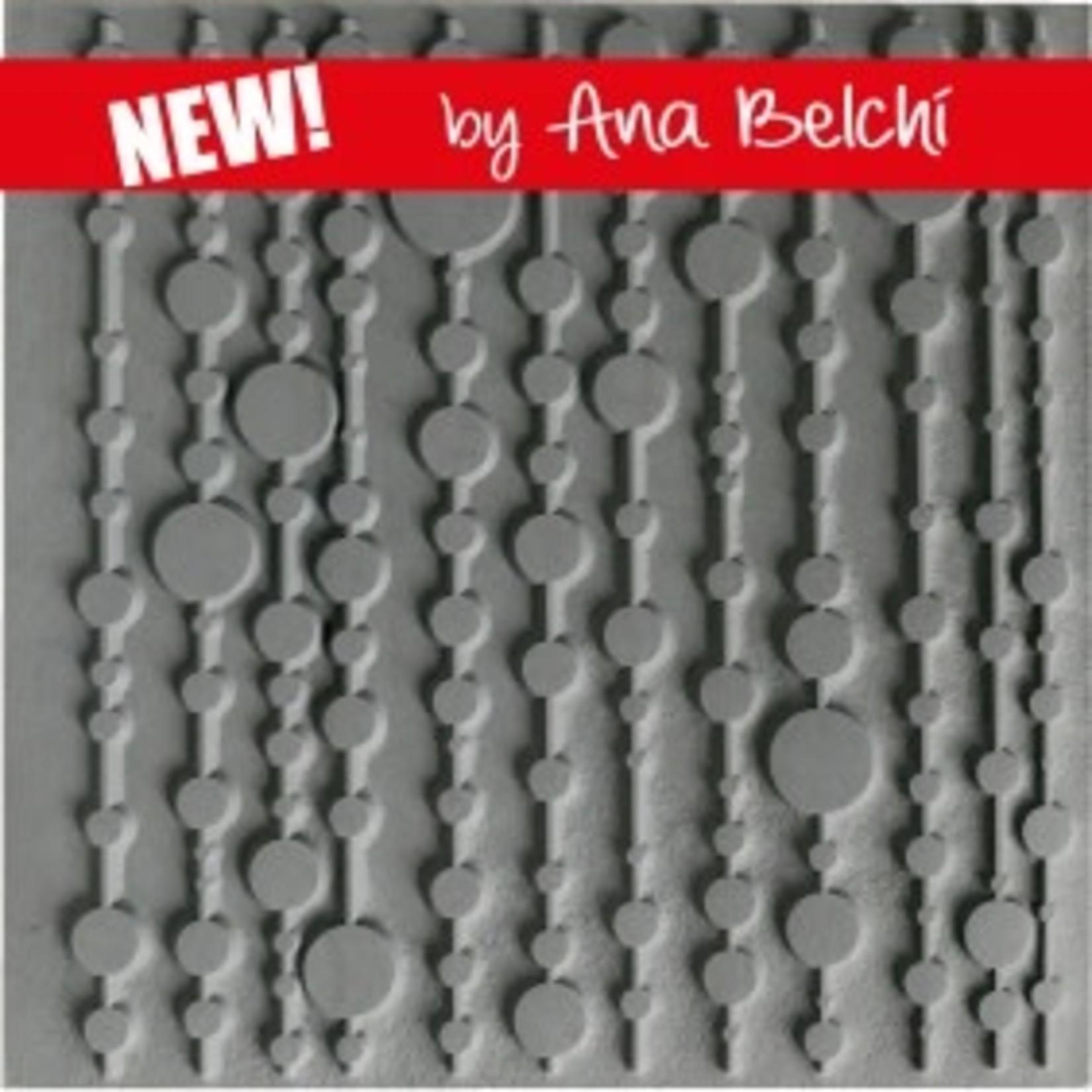 Cernit Cernit Texture Plate 9 X 9 cm - Pop Curtain
