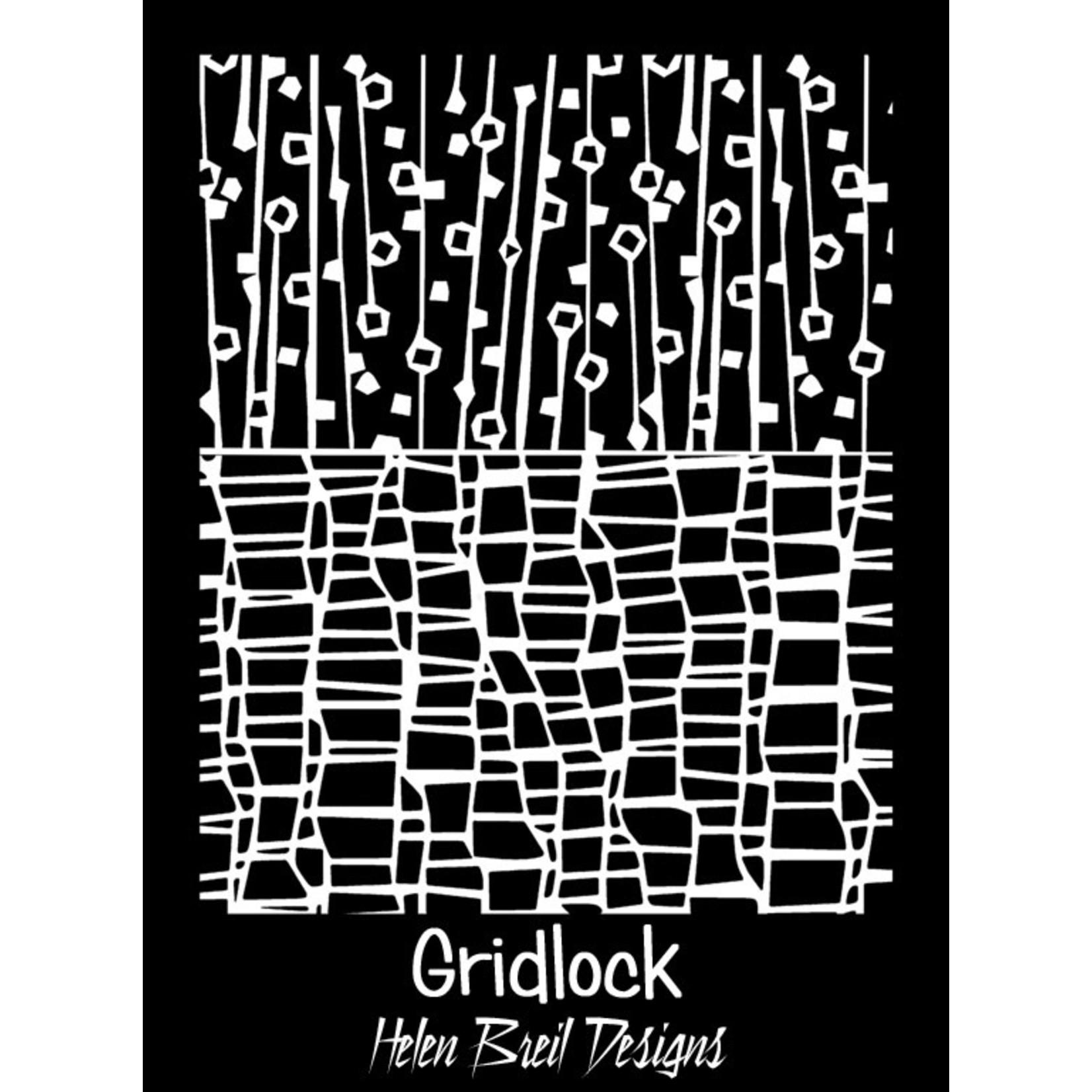 Helen Breil Texture Sheet: Gridlock