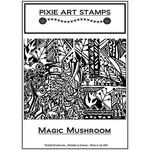 Pixie Art Texture Sheet: Magic Mushroom