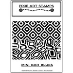 Pixie Art Texture Sheet: Mini Bar Blues