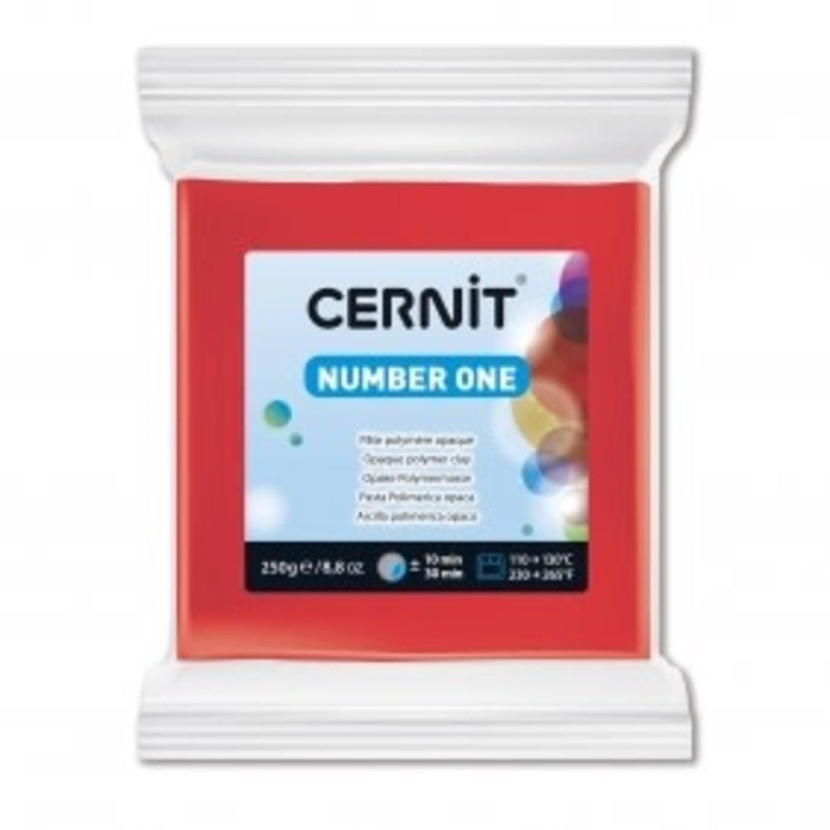 Cernit Cernit #1 250 G Red