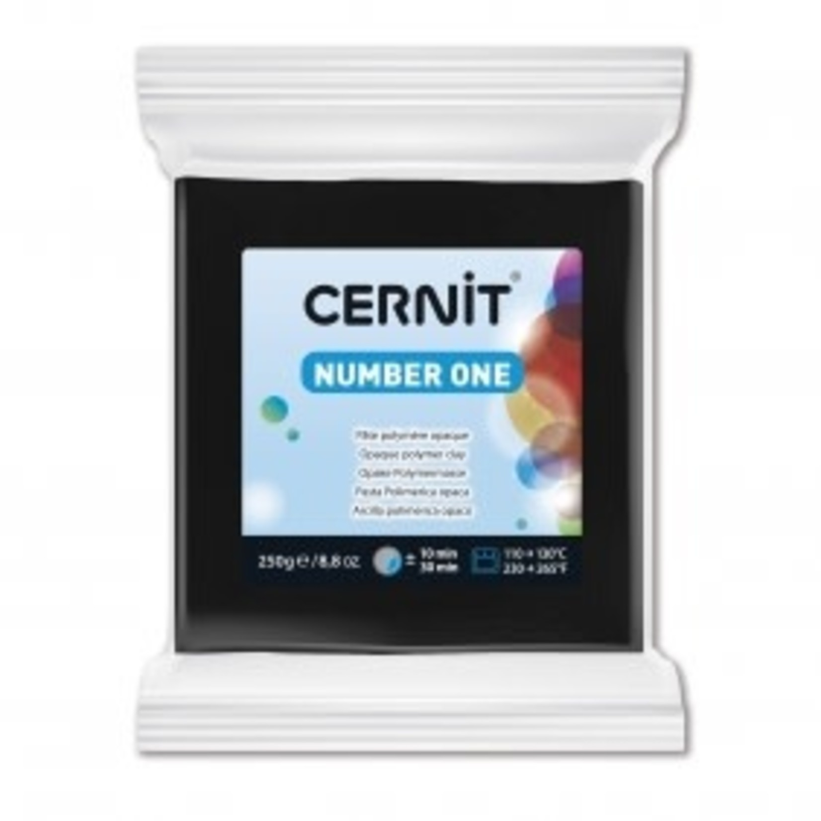 Cernit Cernit #1 250 G Black