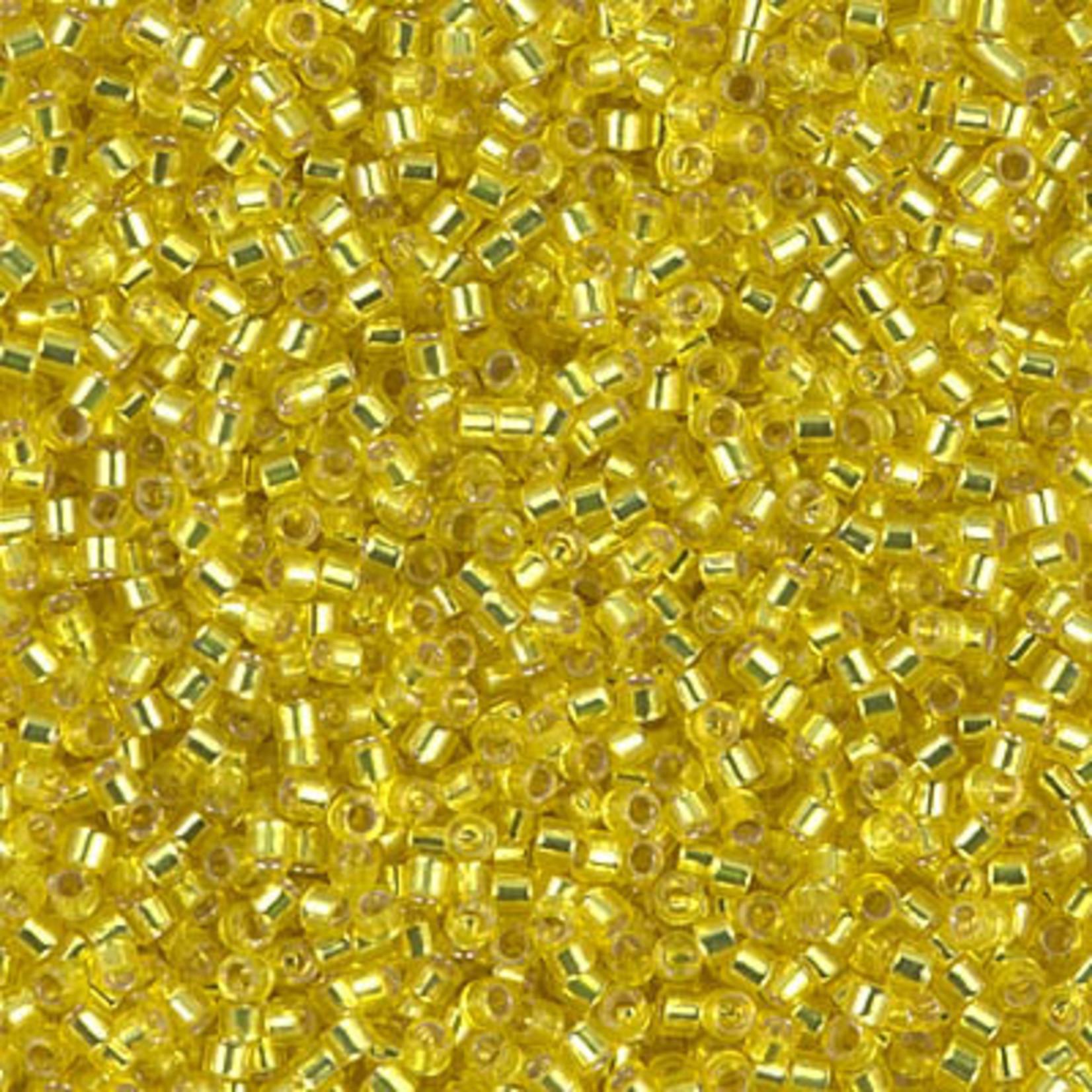 Miyuki 7.2 GM DB0145 11/0 Delica: Yellow T/SL (APX 1400 PCS)