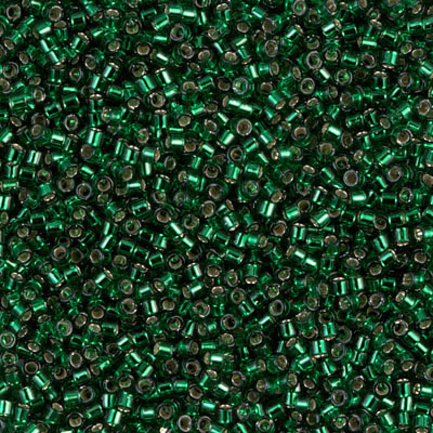 Miyuki 7.2 GM DB0148 11/0 Delica: Christmas Green T/SL (APX 1400 PCS)