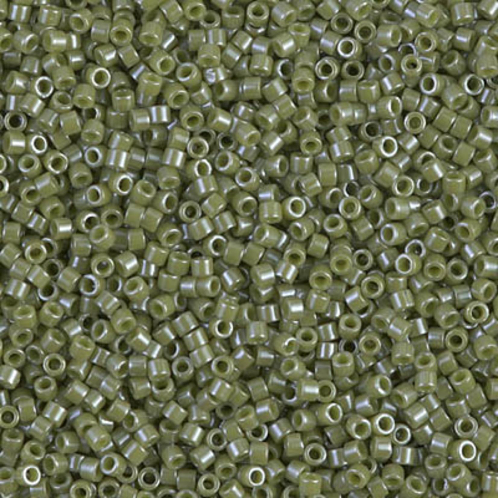 Miyuki 7.2 GM DB0263 11/0 Delica: Aloe Green O/L (APX 1400 PCS)