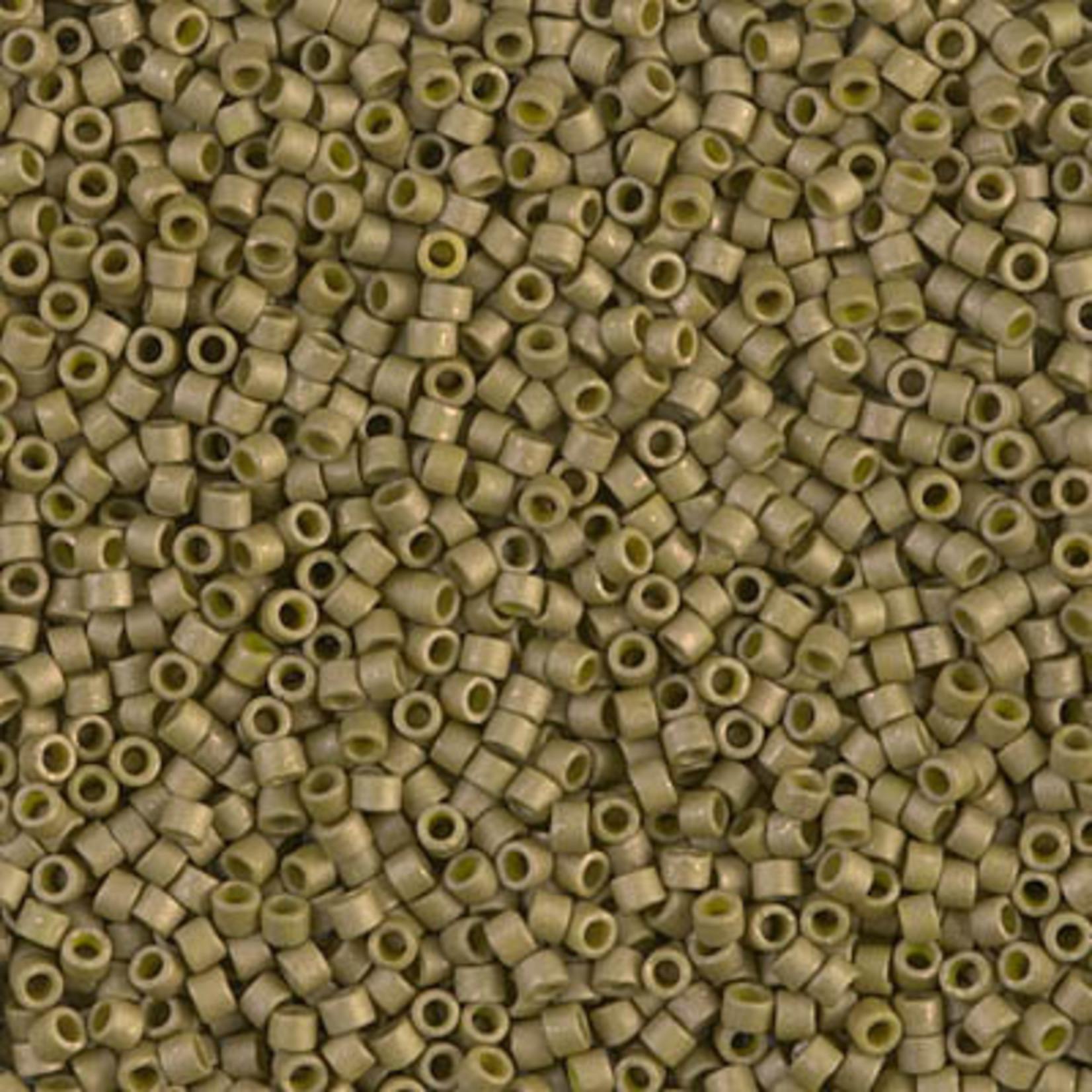 Miyuki 7.2 GM DB0371 11/0 Delica: Golden Olive O/MA/L (APX 1400 PCS)
