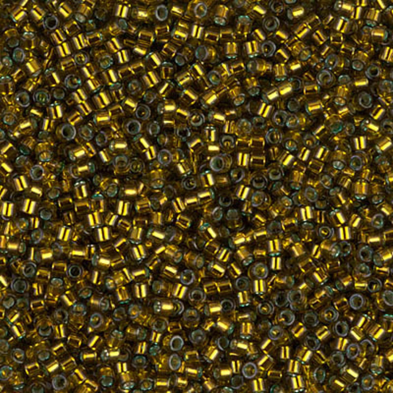 Miyuki 7.2 GM DB0604 11/0 Delica: Golden Olive T/SL (D) (APX 1400 PCS)