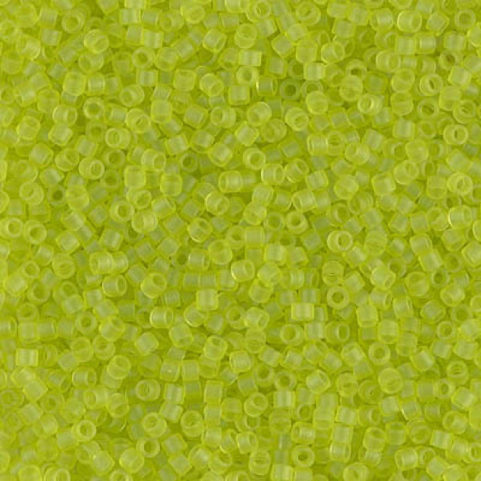 Miyuki 7.2 GM DB0766 11/0 Delica: Lime Green T/MA (APX 1400 PCS)