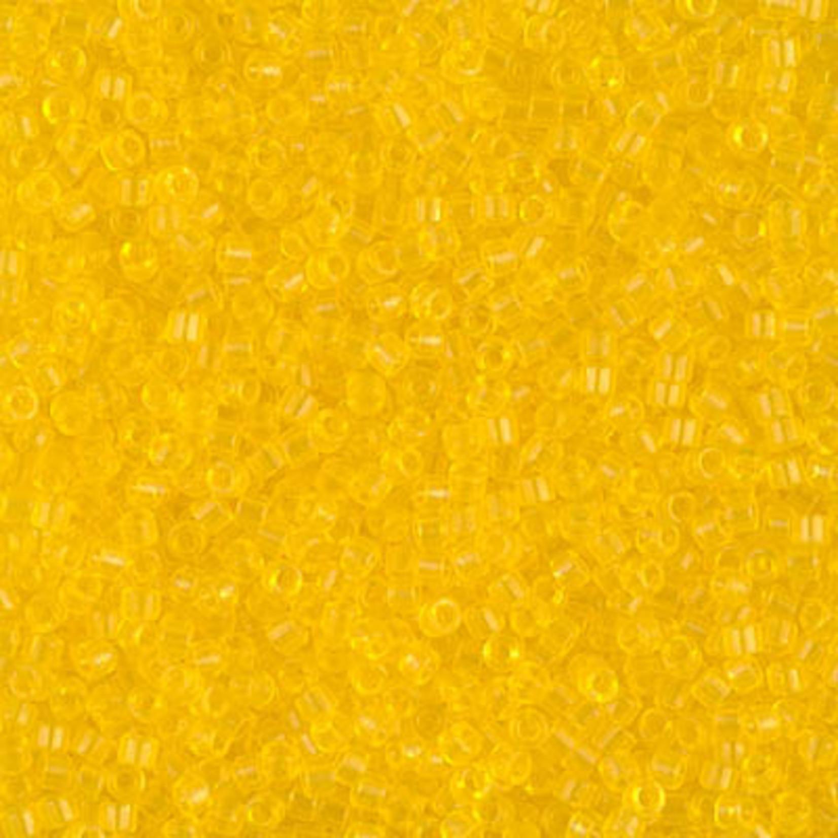 Miyuki 7.2 GM DB1301 11/0 Delica: Light Yellow T (D) (APX 1400 PCS)