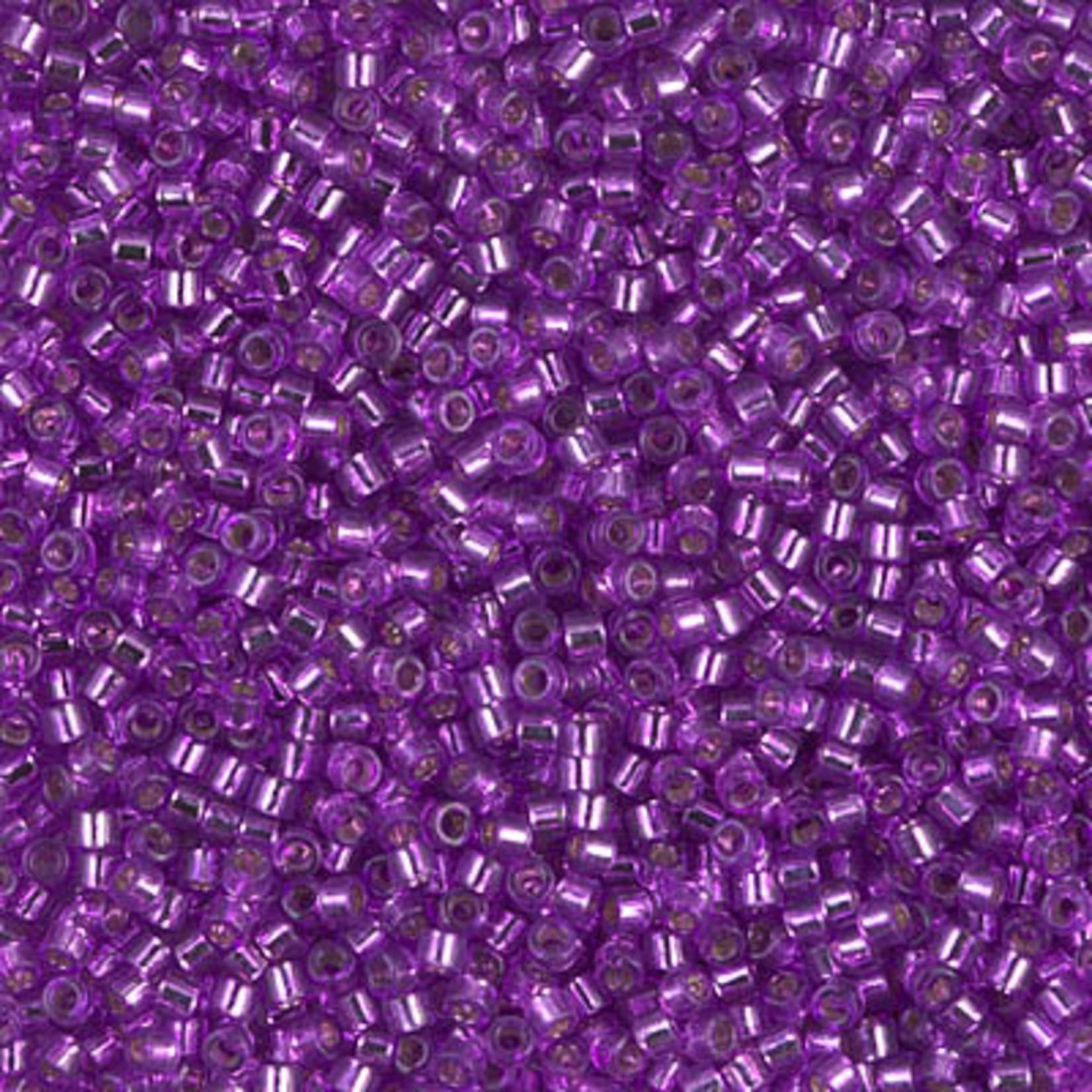 Miyuki 7.2 GM DB1345 11/0 Delica: Bright Purple T/SL (D) (APX 1400 PCS)