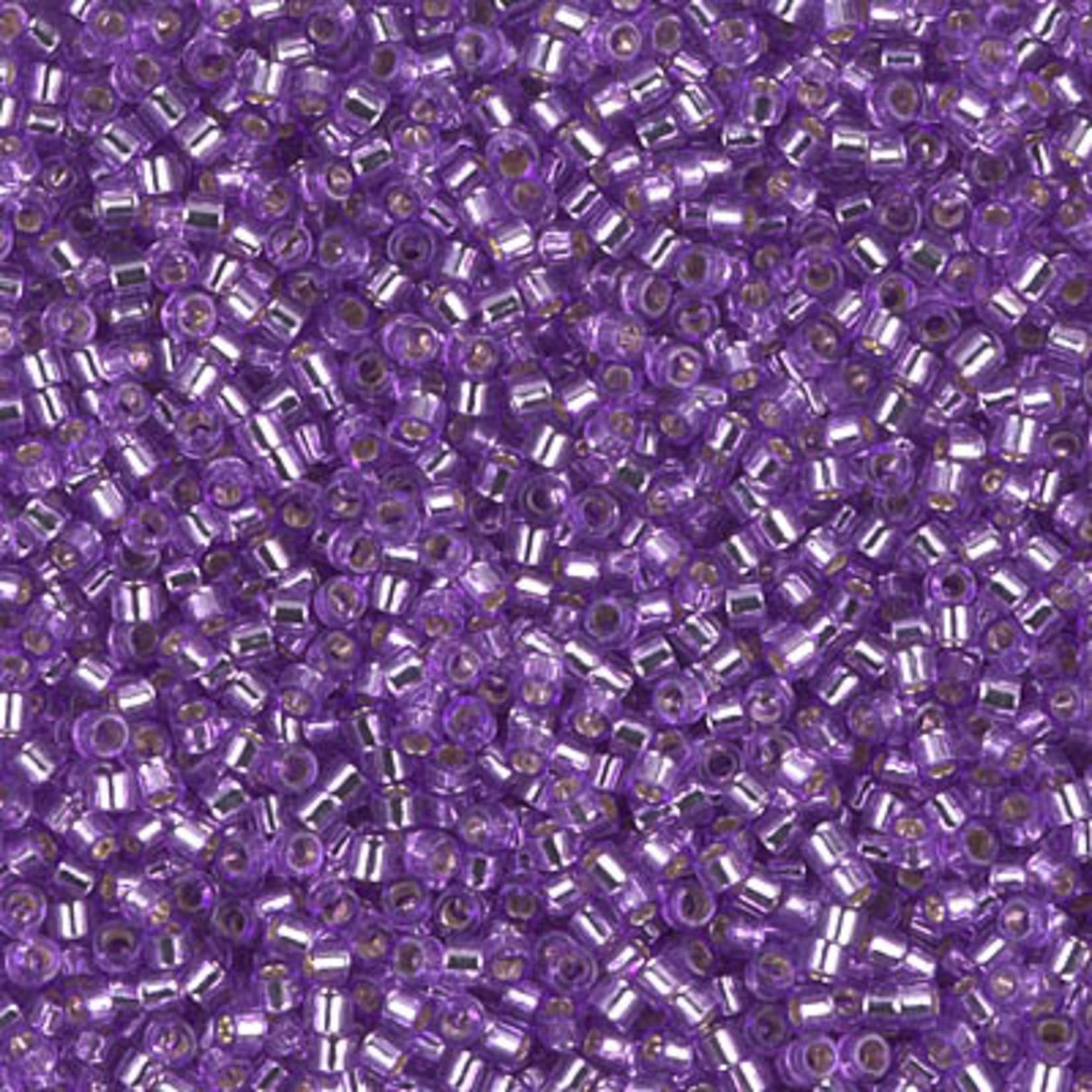 Miyuki 7.2 GM DB1343 11/0 Delica: Medium Purple T/SL (D) (APX 1400 PCS)
