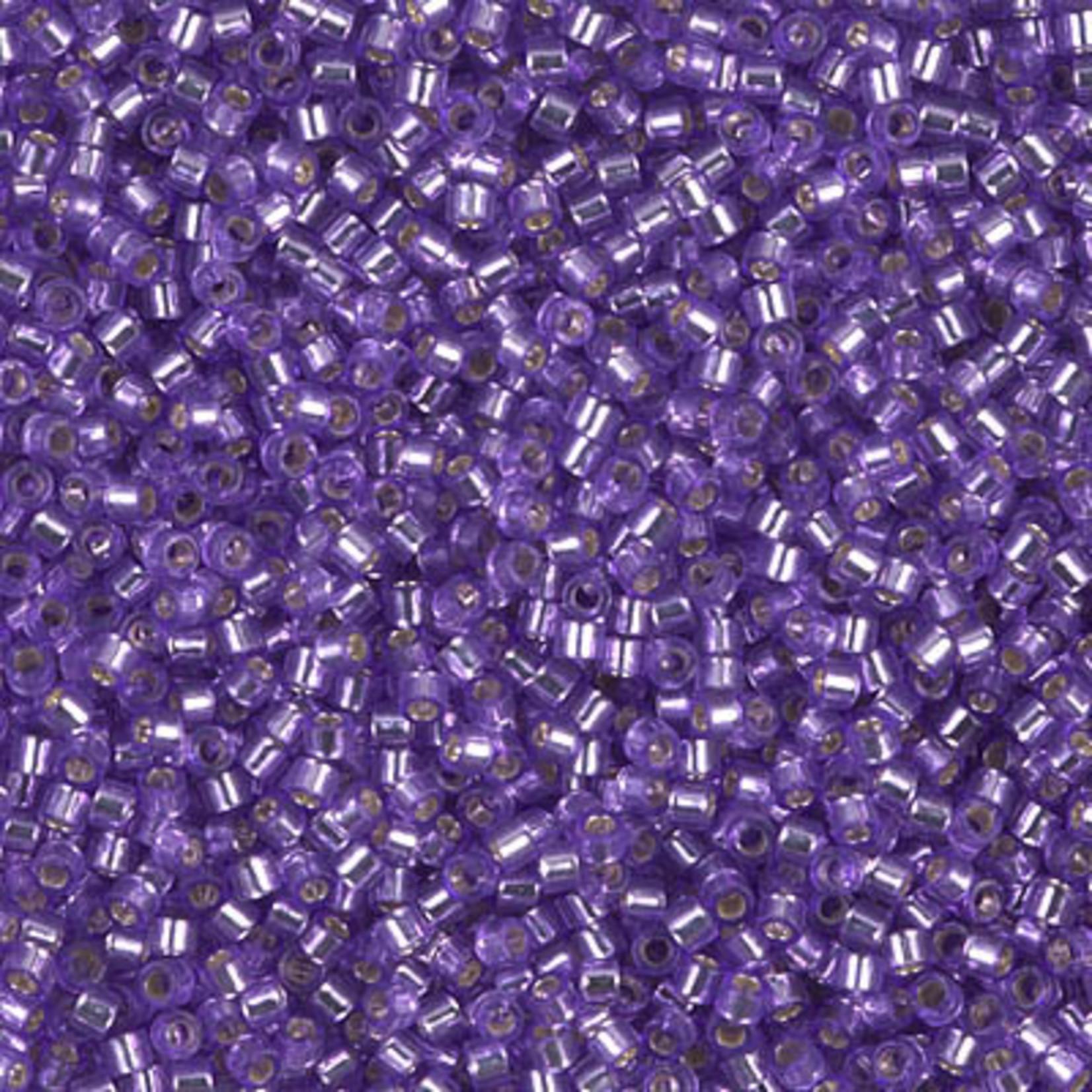 Miyuki 7.2 GM DB1347 11/0 Delica: Purple T/SL (D) (APX 1400 PCS)