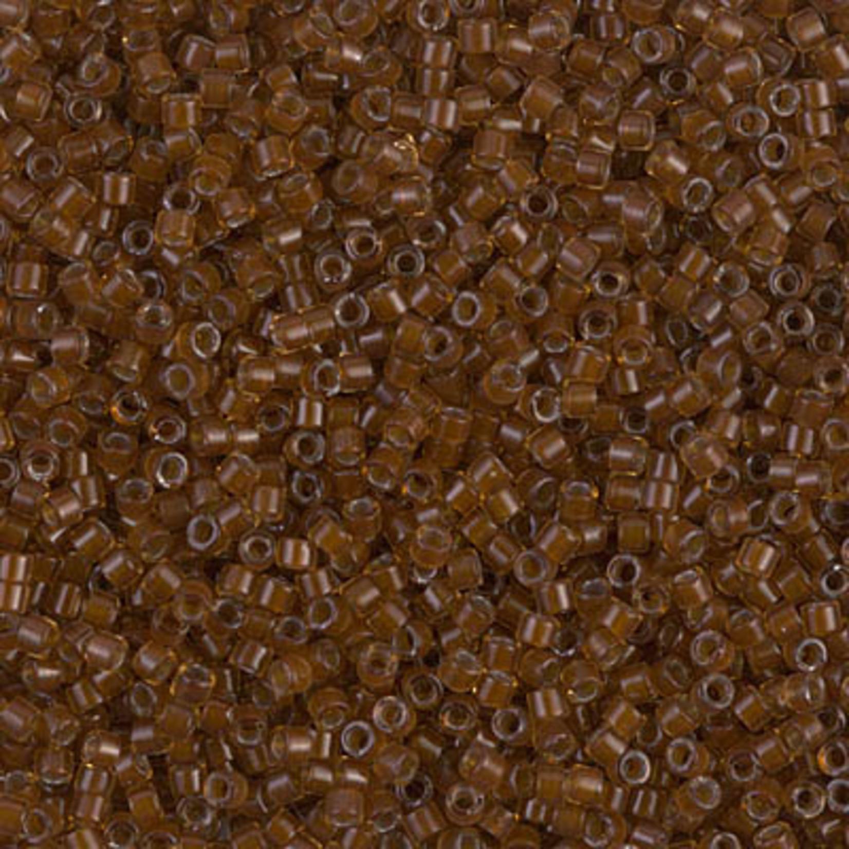 Miyuki 7.2 GM DB1393 11/0 Delica: Golden Brown/Chocolate ICL* (APX 1400 PCS)