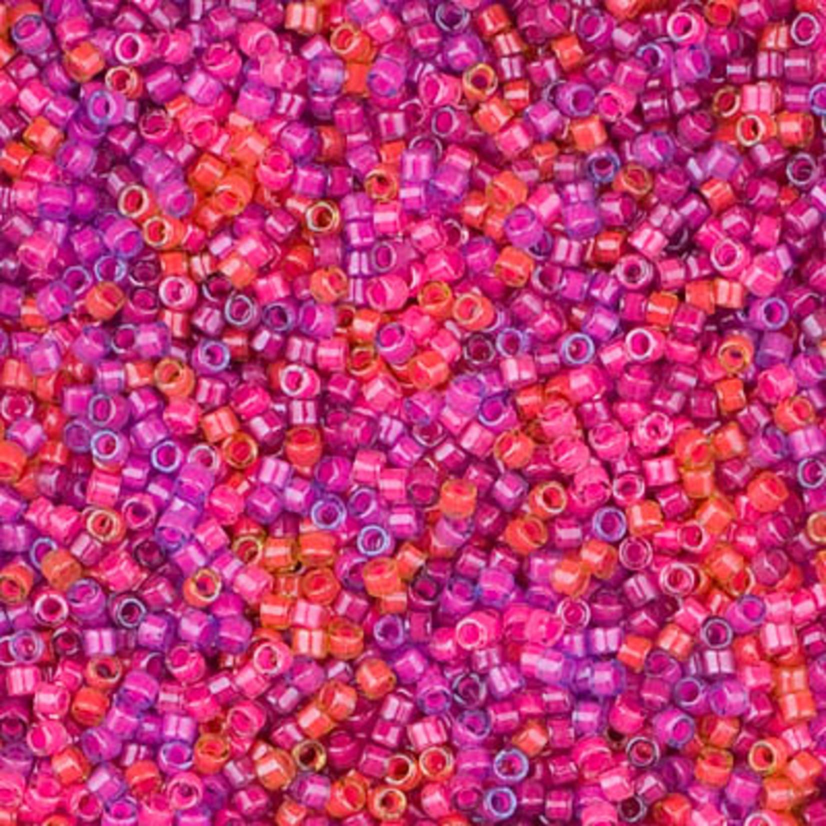 Miyuki 7.2 GM DB2064 11/0 Delica: Luminous Pink/Purple/ (APX 1400 PCS)