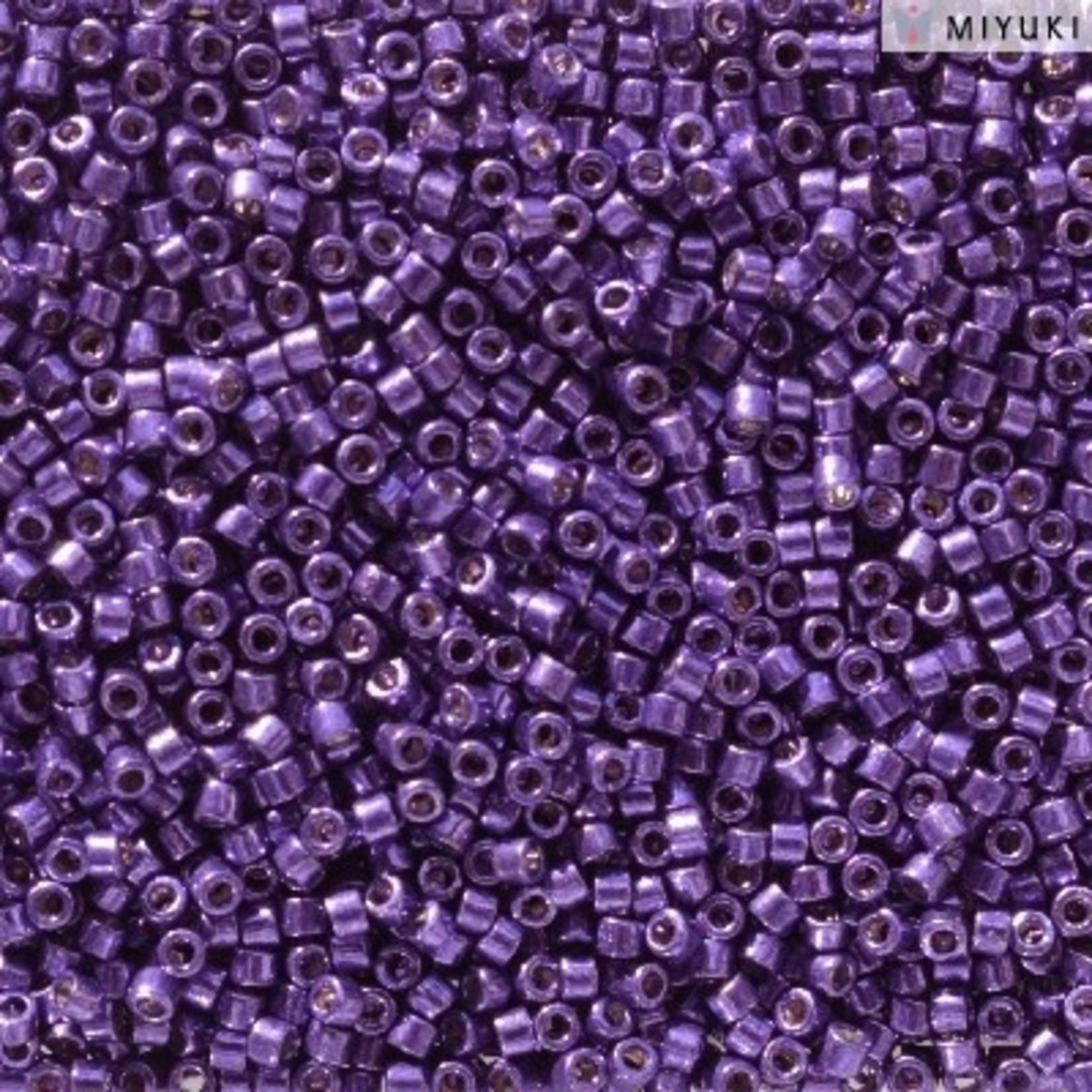 Miyuki 7.2 GM DB2510 11/0 Delica: Lilac Night DC GA (APX 1400 PCS)