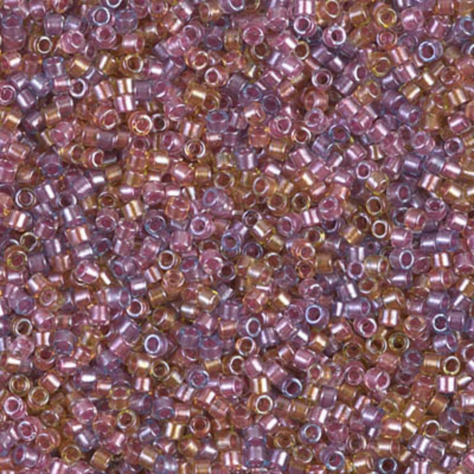 Miyuki 7.2 GM DB0982 11/0 Delica: Lt Purple/Rose Mix ICL* (D) (APX 1400 PCS)