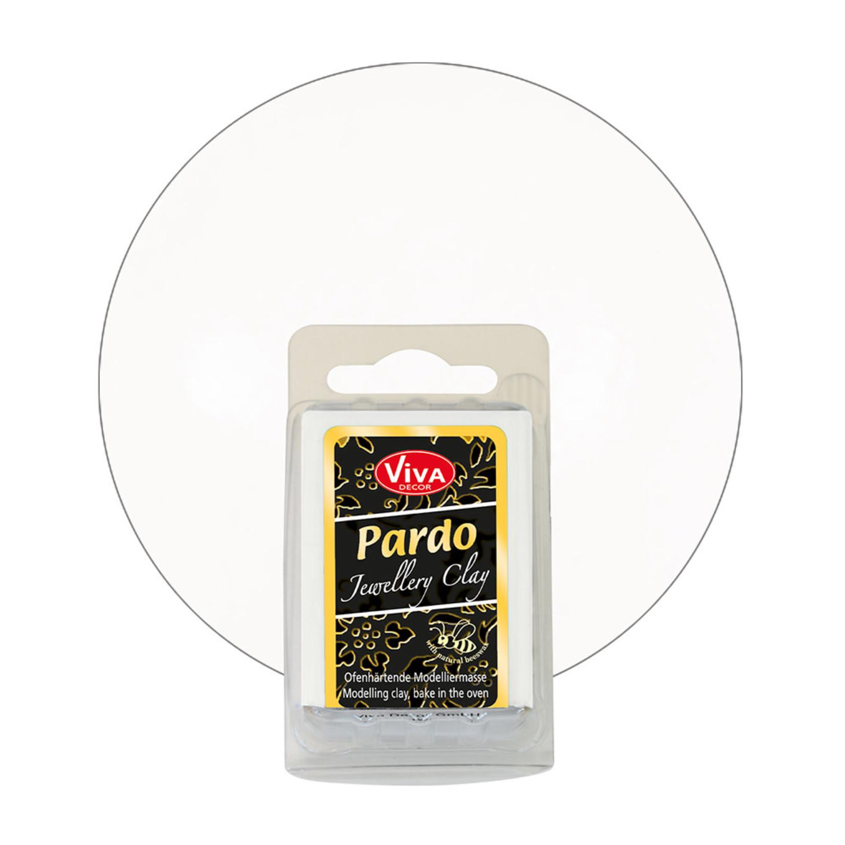 PARDO Jewelry Clay White, 56gr