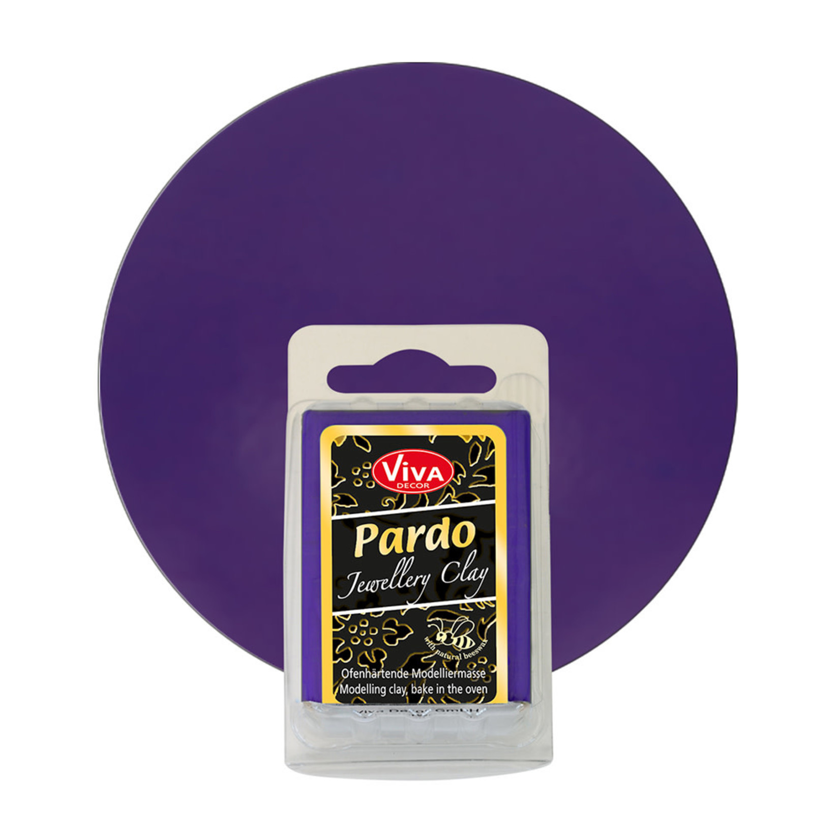 PARDO Jewelry Clay Lavender Jade, 56gr
