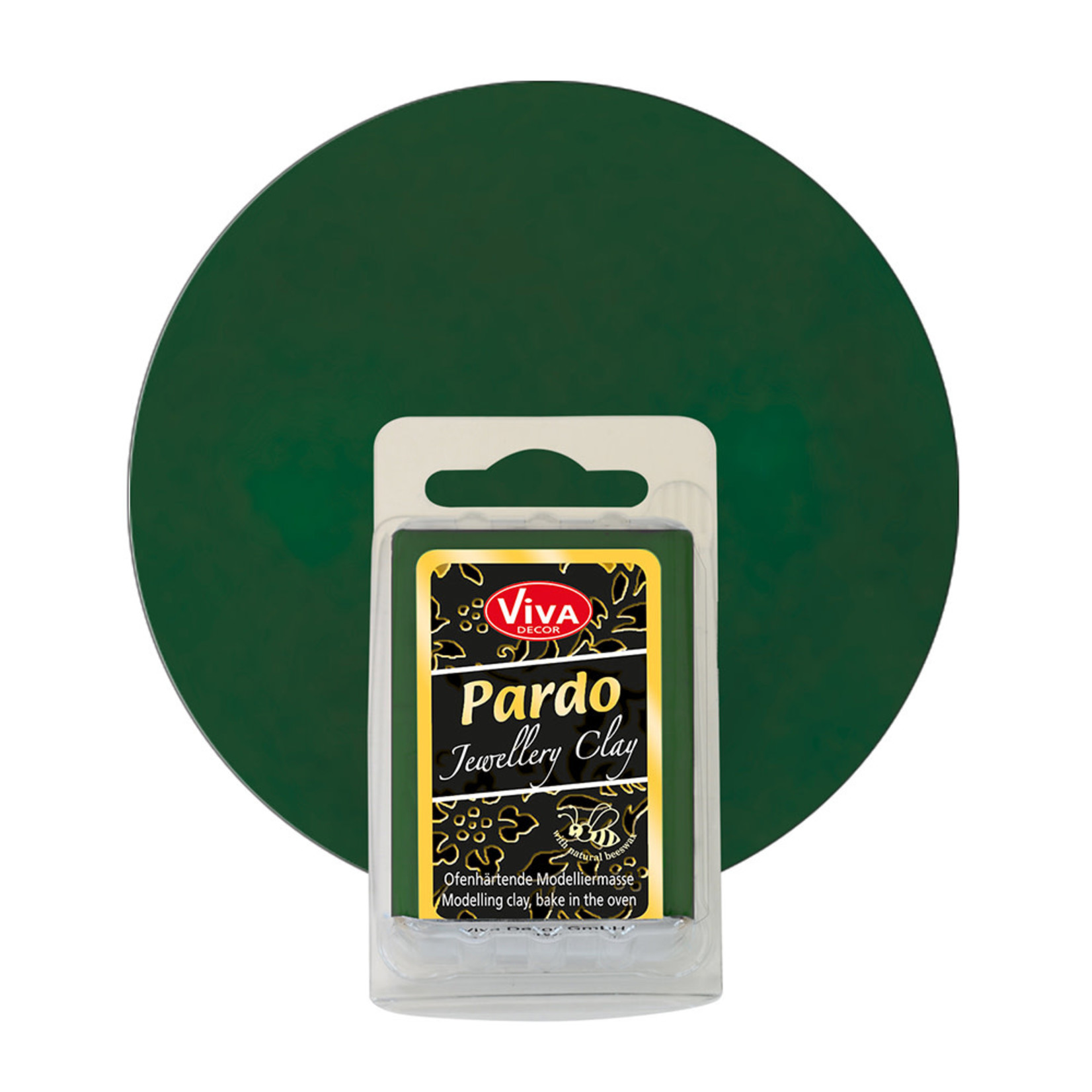 PARDO Jewelry Clay Apatite Green, 56gr