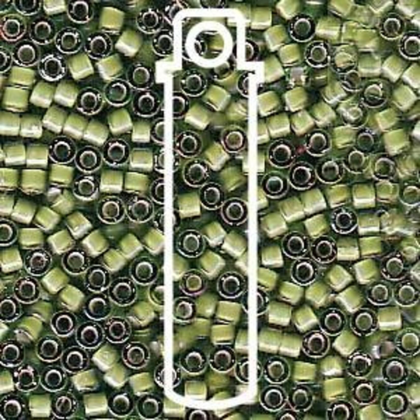 Miyuki 7.2 GM DB1786 11/0 Delica: Green Tea/White ICL/R (APX 1400 PCS)