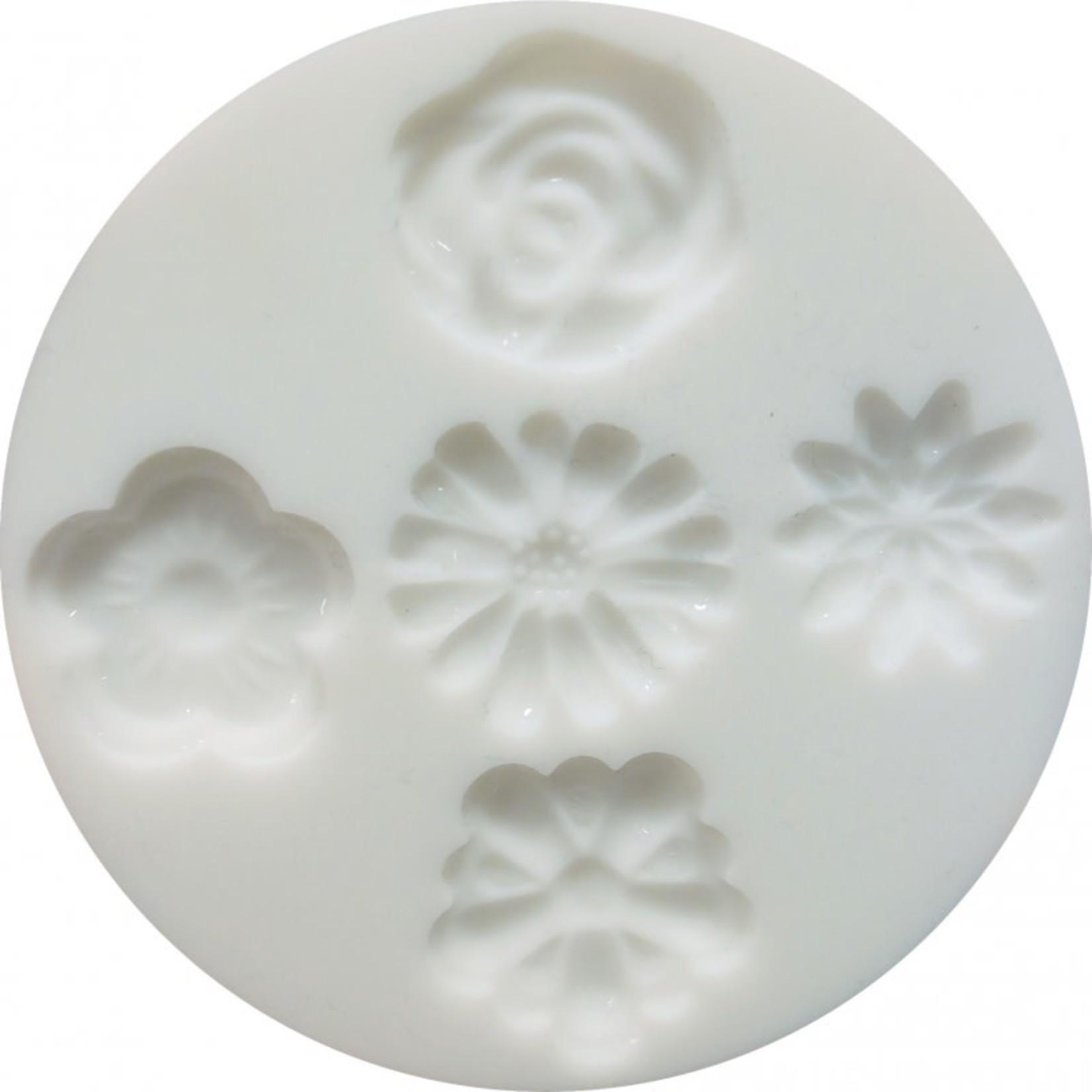 Cernit Cernit Silicone Mold - Flowers