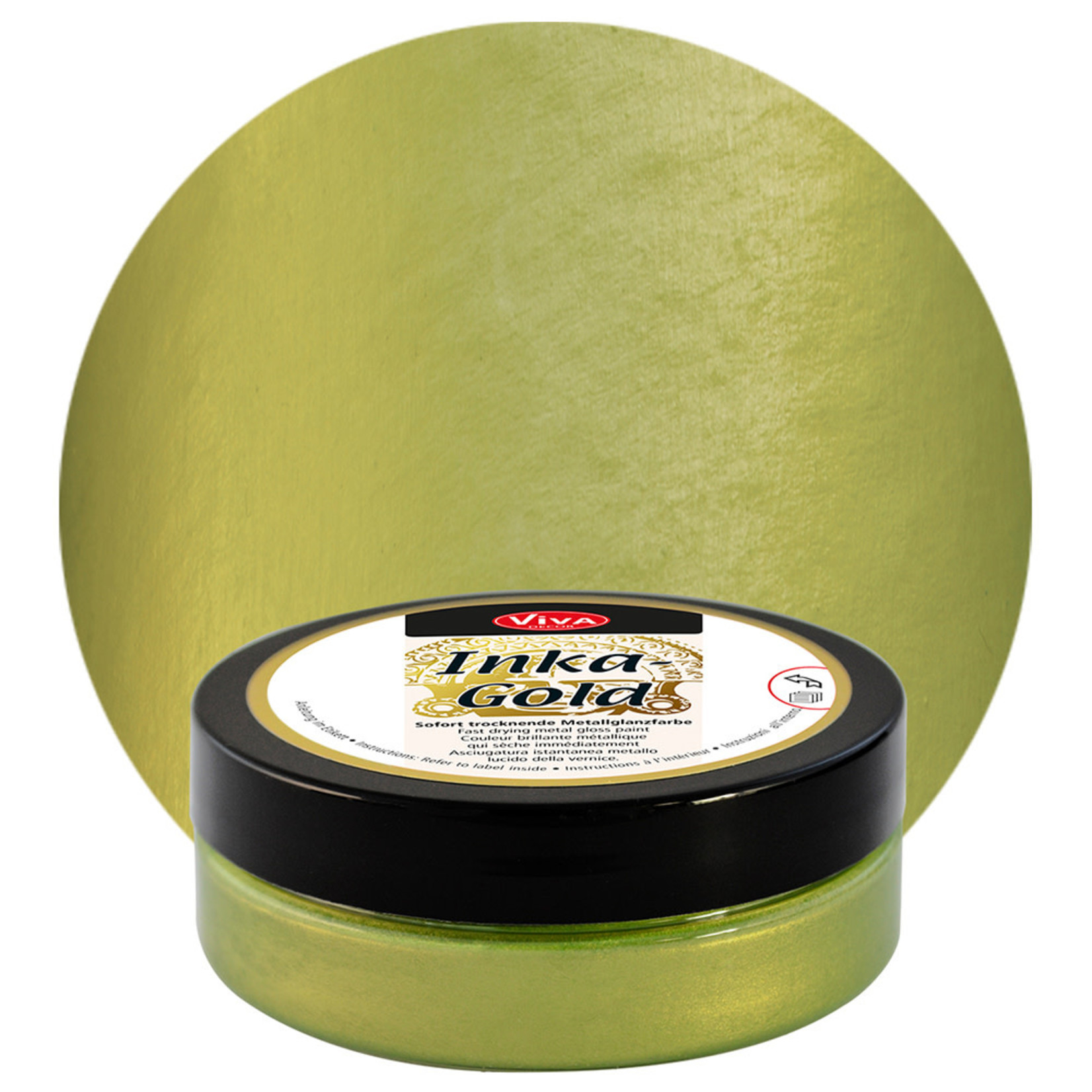 Viva Decor Inka Gold 62.5g - Green-Yellow