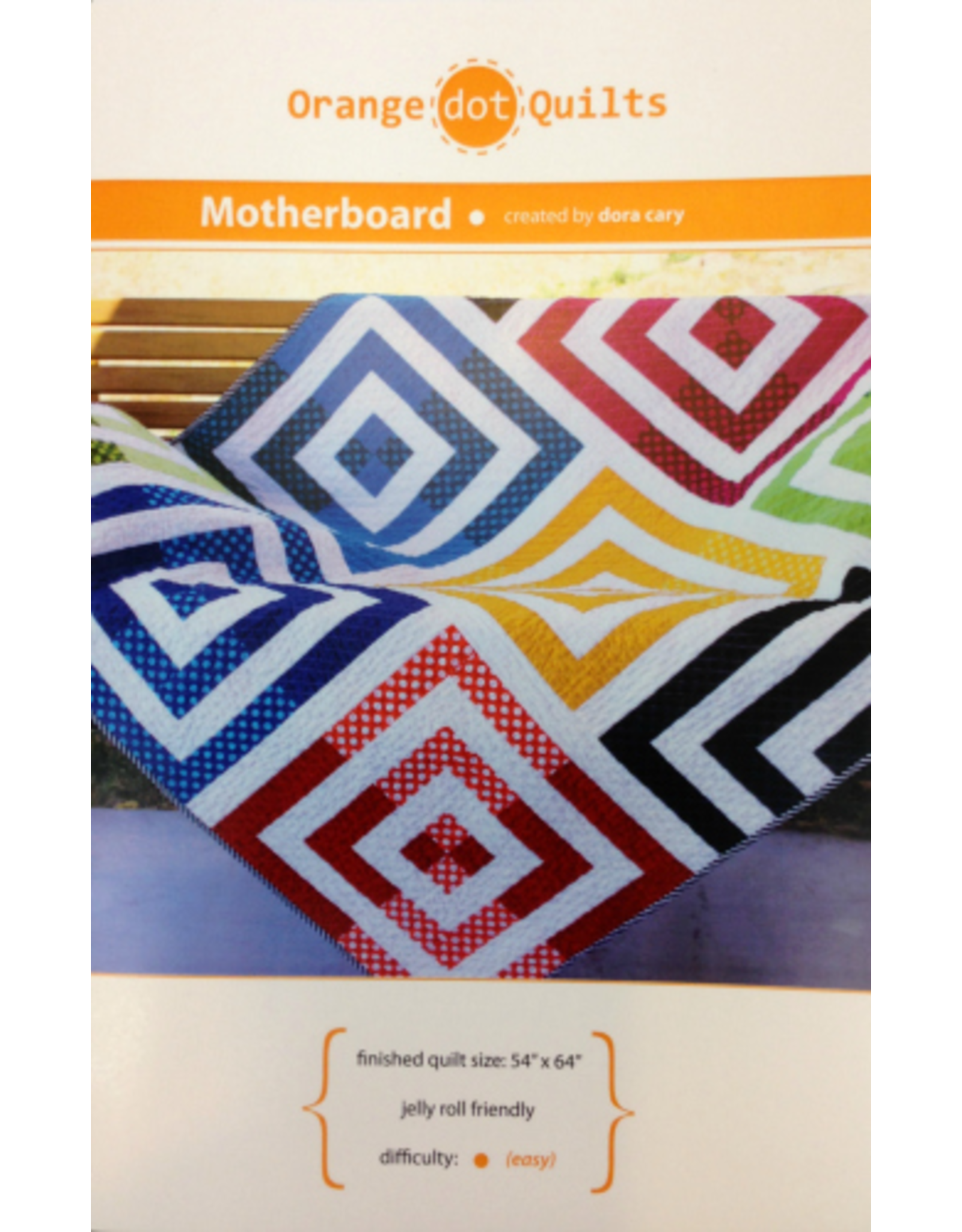 Orange Dot Quilts Motherboard Quilt Pattern