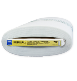 PD Pellon 71F Peltex Single-Sided Fusible Ultra Firm Stabilizer, by the Yard
