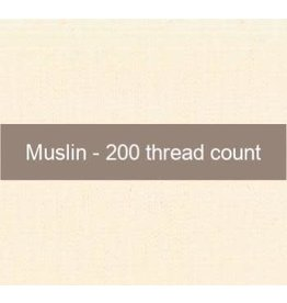 Moda Fabric, Muslin in Natural, 200 Thread Count, by the Half-Yard   9951 12