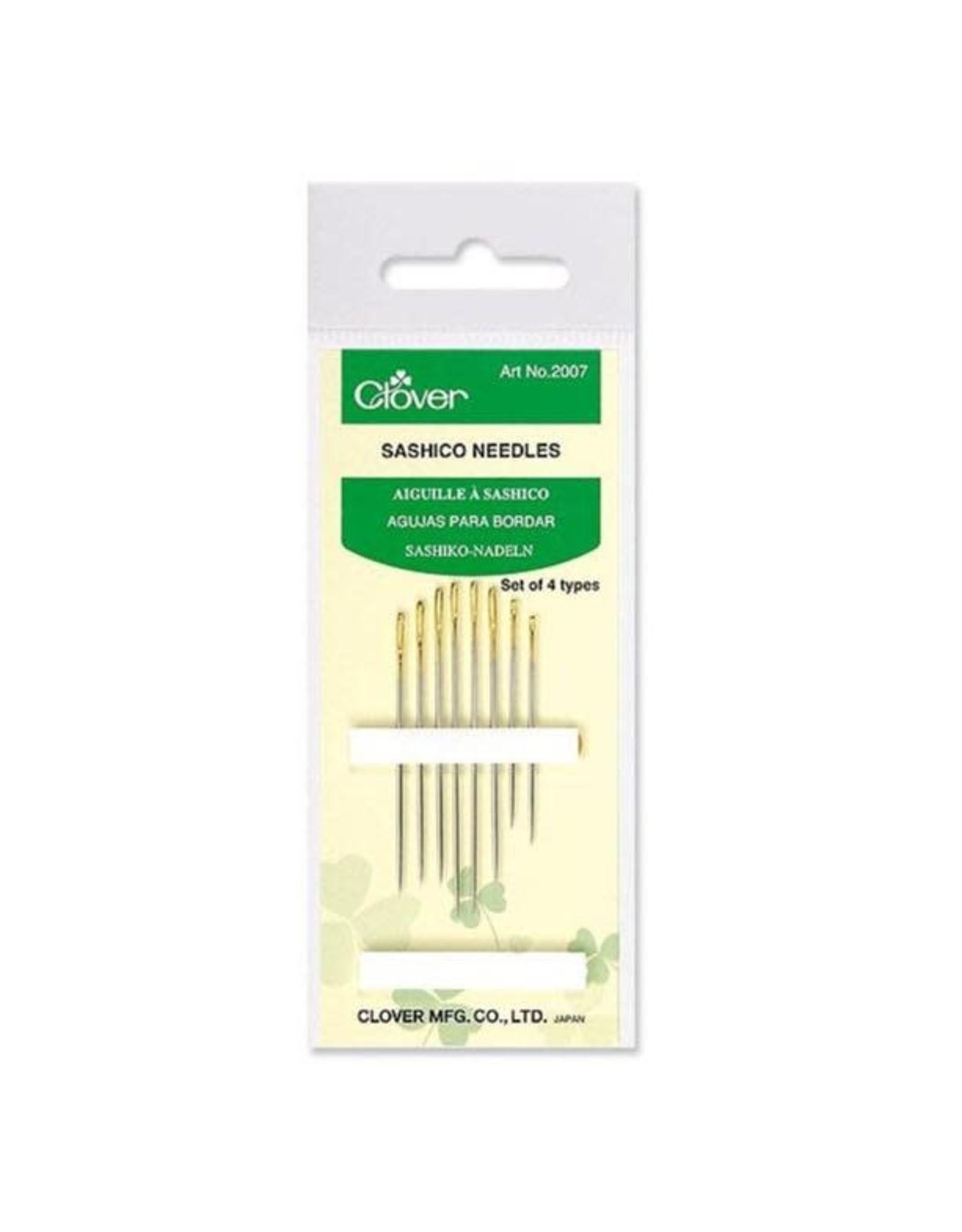 PD Clover, Sashiko Needles - Set of 8 Needles in 4 Sizes