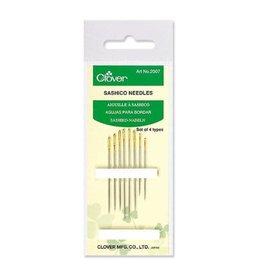 Clover Sashiko Needles - Set of 8 Needles in 4 Sizes
