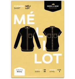 Deer and Doe Melilot Shirt Pattern