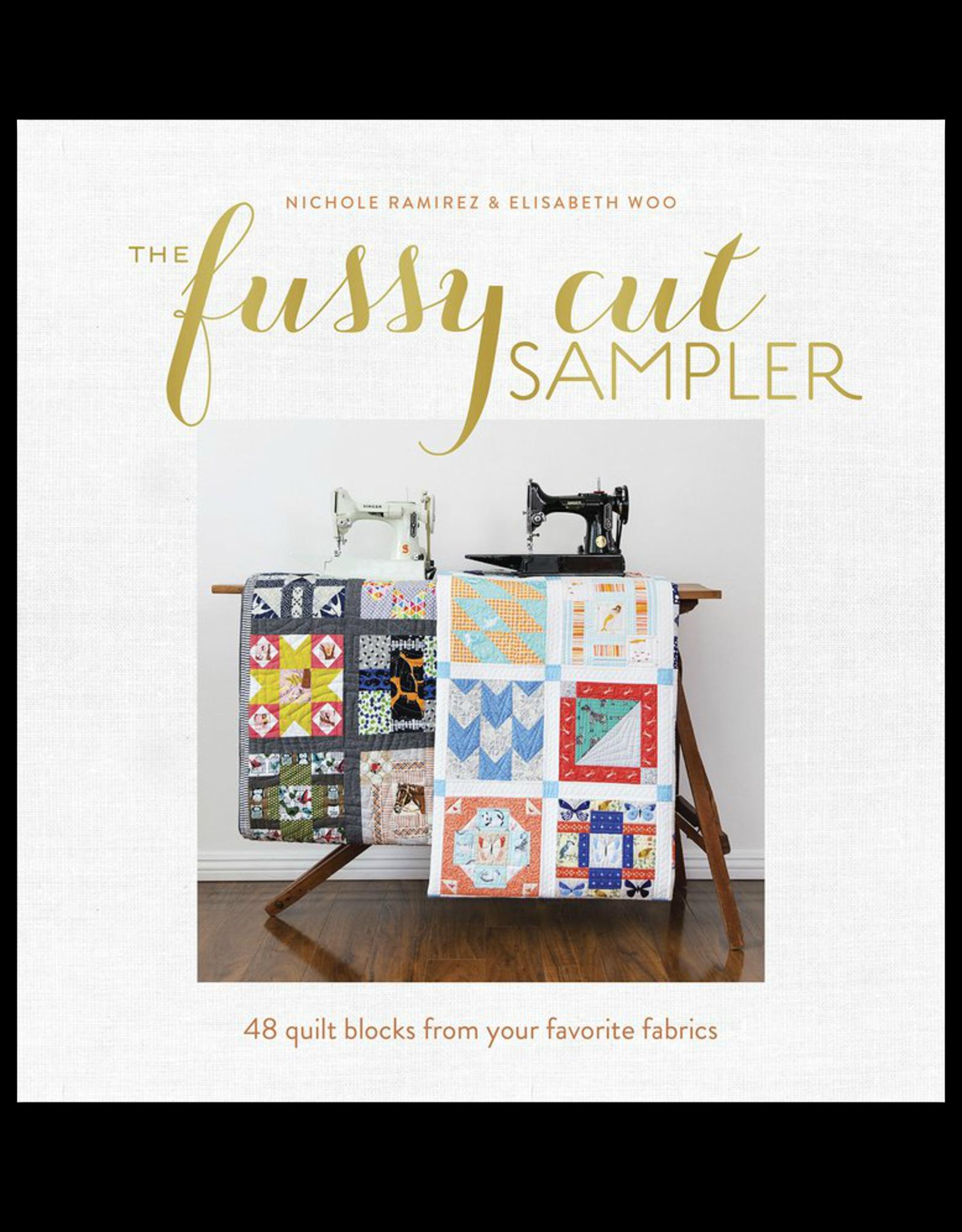 Nicole Ramirez & Elisabeth Woo The Fussy Cut Sampler