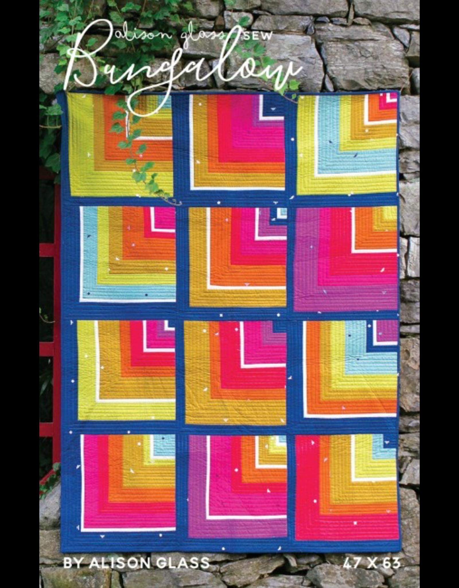 Alison Glass Bungalow Quilt Pattern