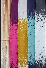 "Alison Glass Cotton Lawn, Adorn, Silhouette in Eggplant 54"", Fabric Half-Yards"