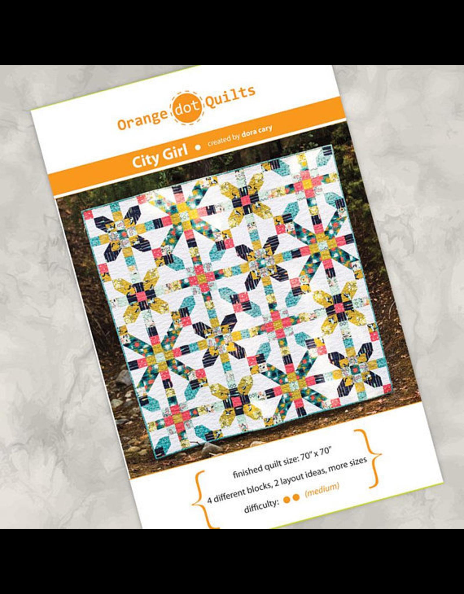 Orange Dot Quilts City Girl Quilt Pattern