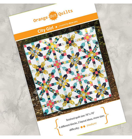 Orange Dot Quilts Orange Dot Quilt's City Girl Pattern
