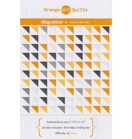 Orange Dot Quilts Migration Quilt Pattern