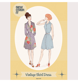 Sew Over It Sew Over It Vintage Shirt Dress Paper Pattern
