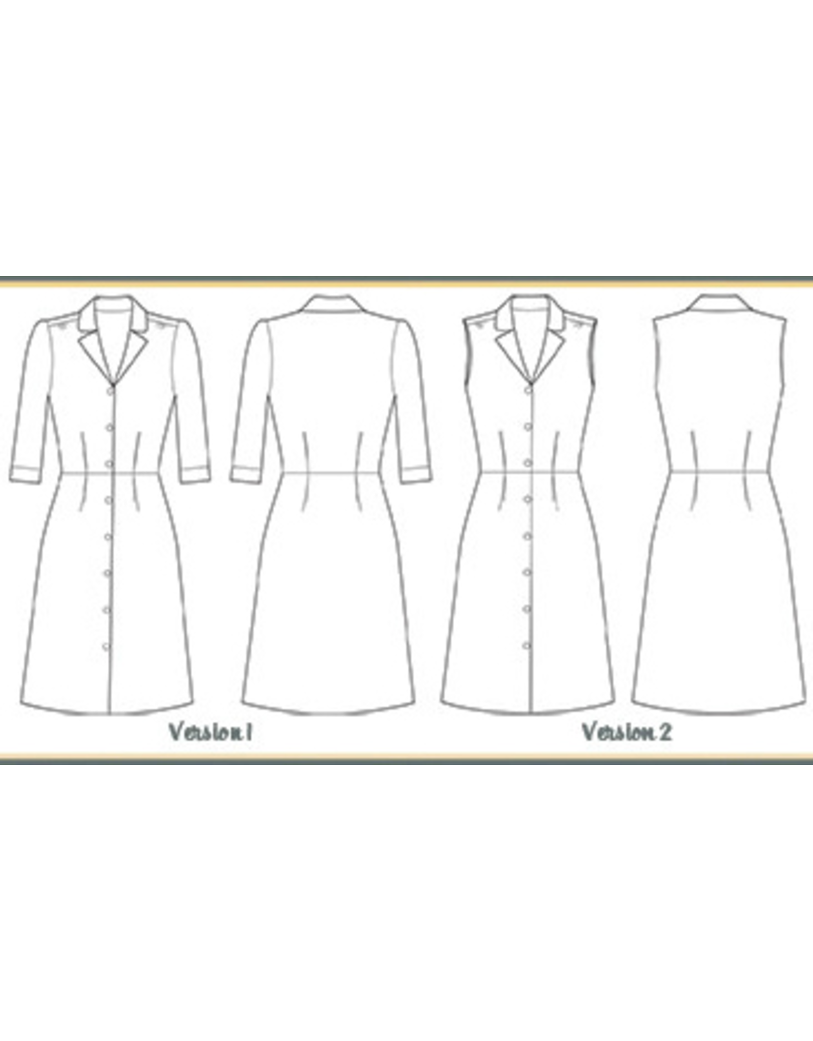 Sew Over It Vintage Shirt Dress Paper Pattern
