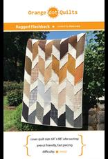 Orange Dot Quilts Ragged Flashback Quilt Pattern