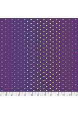 PD's Tula Pink Collection Tula's True Colors, Hexy Rainbow in Starling, Dinner Napkin