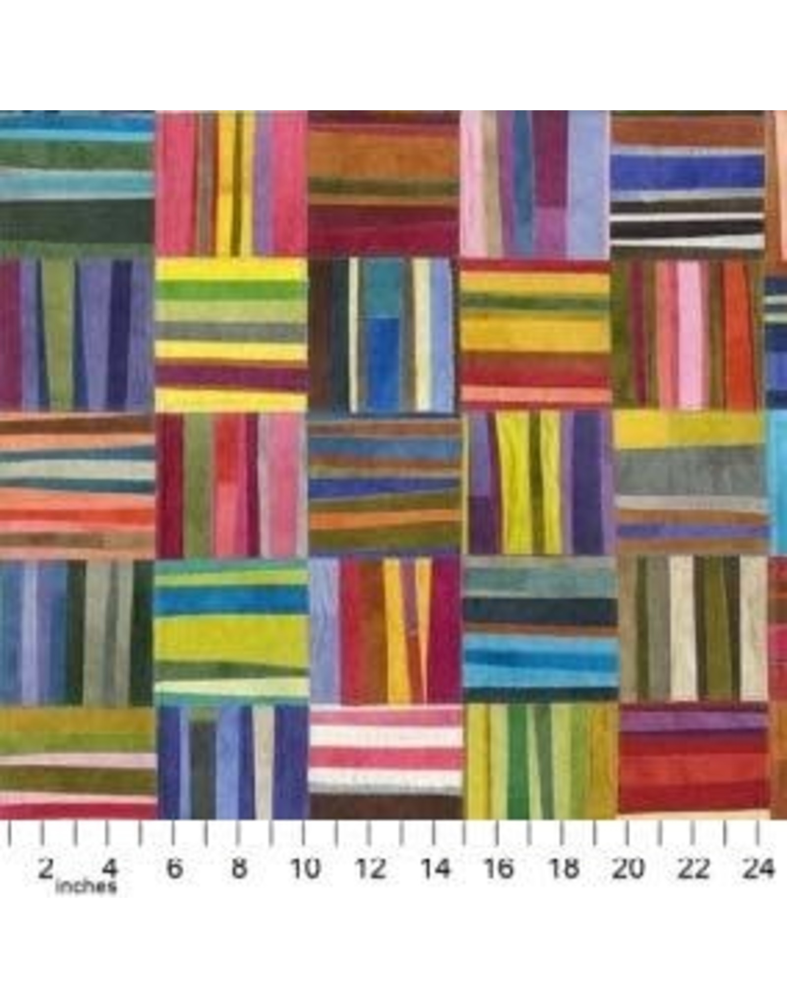 Windham Fabrics Canvas, Curiosity, Field Guide to Palette in Multi, Fabric Half-Yards 51957DC-X