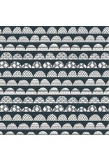Cotton + Steel ON SALE-All Through the Land, Hills in Hidden Falls, Fabric Half-Yards