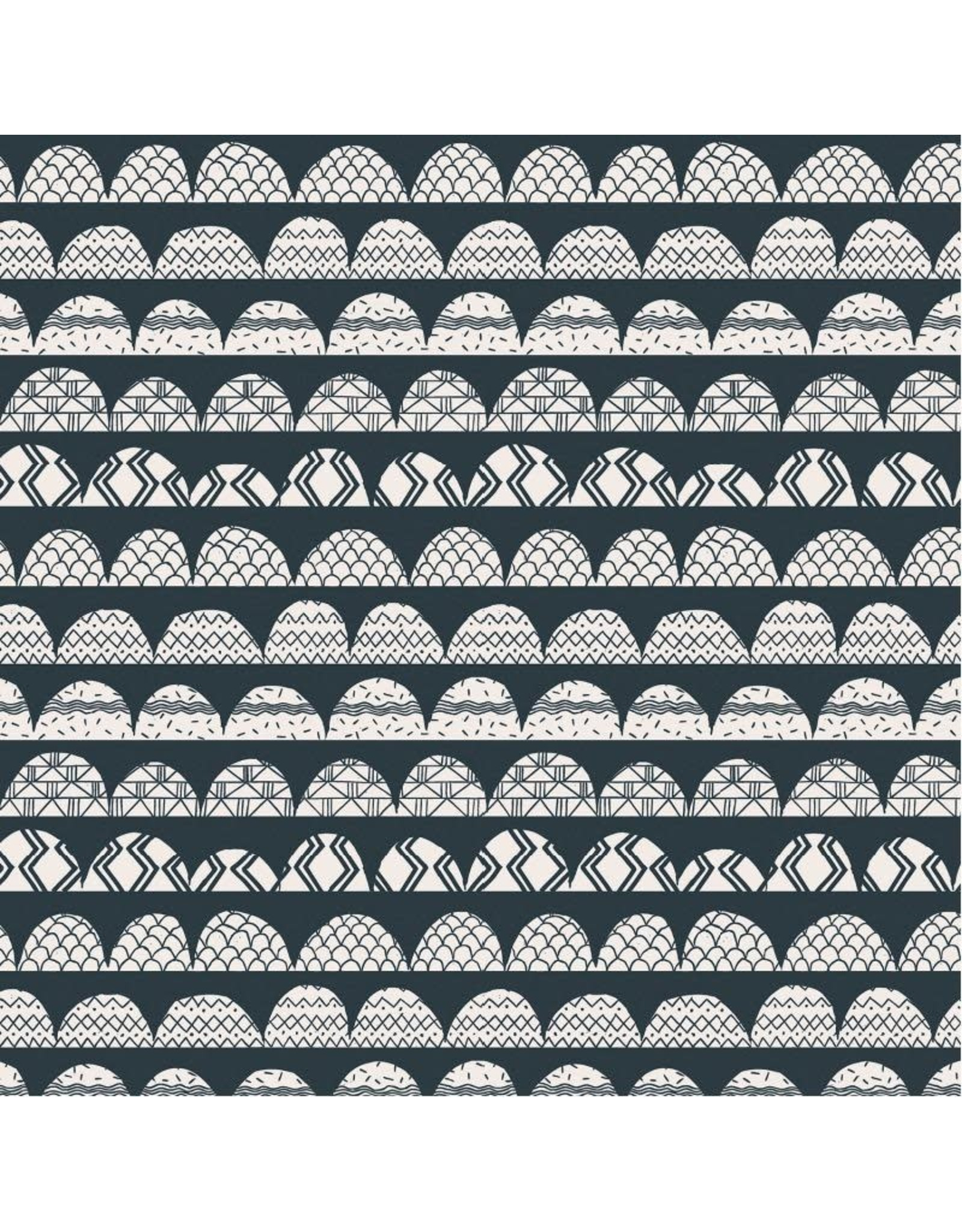 Cotton + Steel All Through the Land, Hills in Hidden Falls, Fabric Half-Yards AM101-HF3