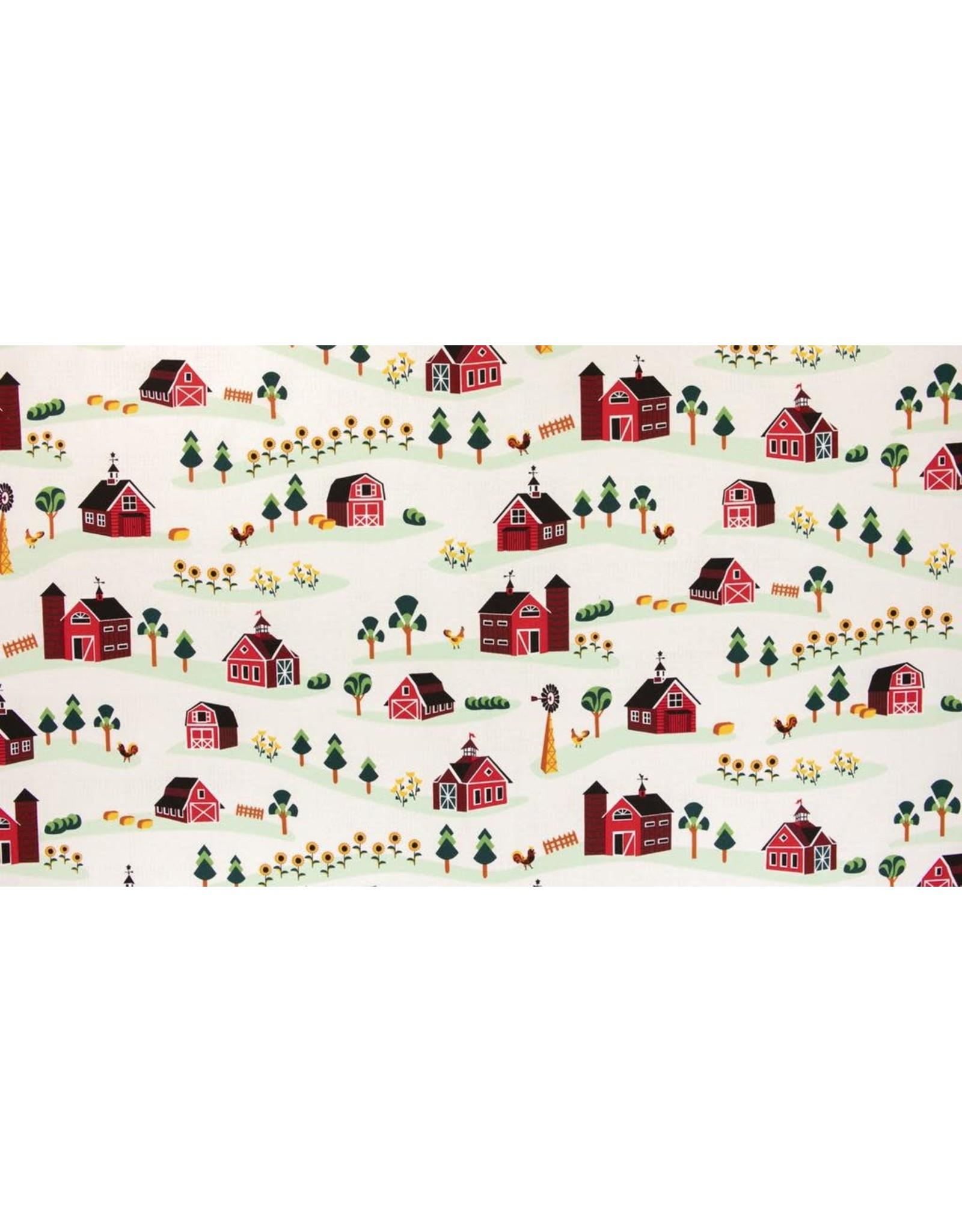 RJR Fabrics Lil' Bit Country, Barnyard in Storybook, Fabric Half-Yards RJ1900-ST1