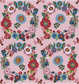 Nathalie Lété Sunday in the Country, Crown in Lucy, Fabric Half-Yards PWNL007