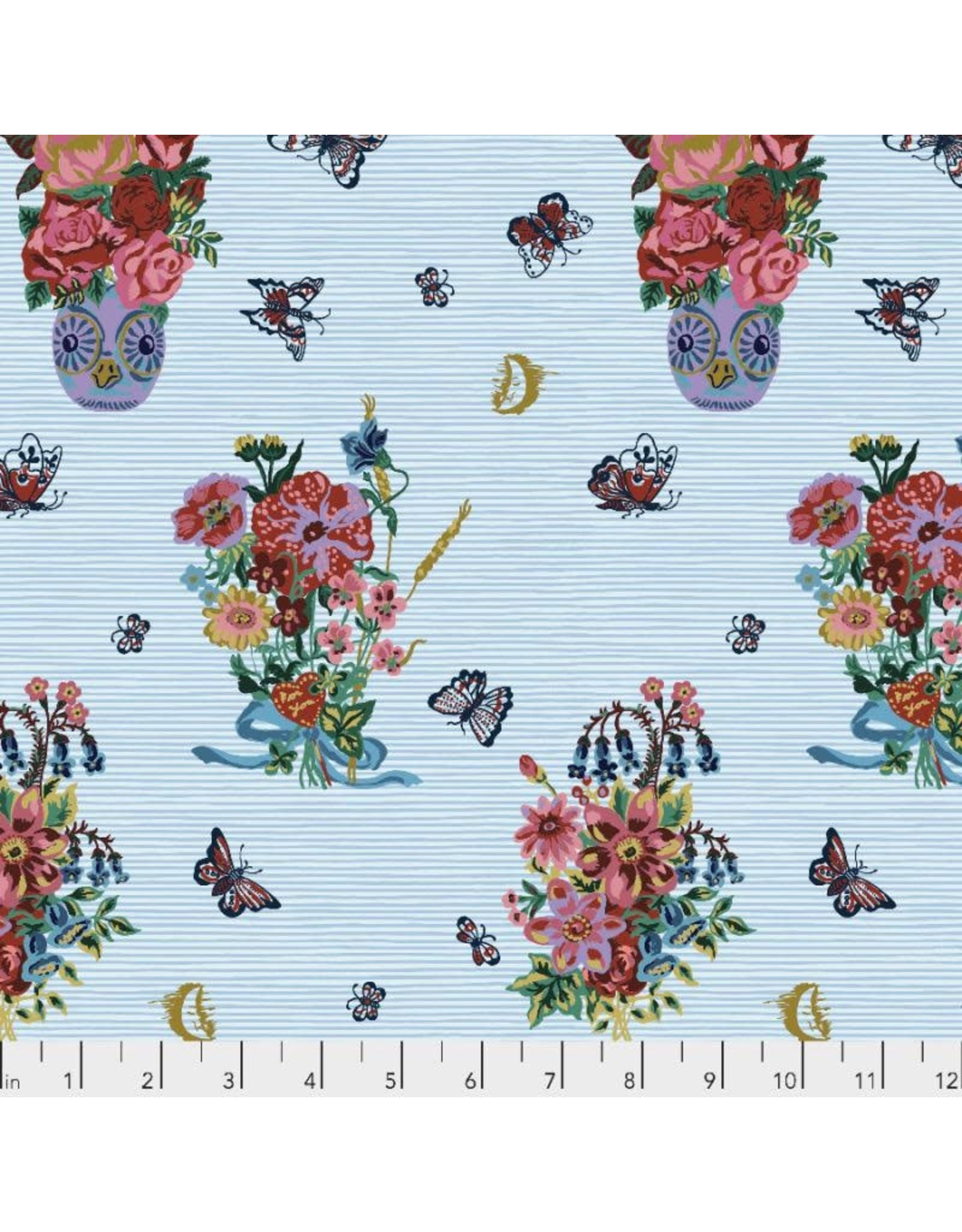 Nathalie Lété Sunday in the Country, Early Morning in Luna, Fabric Half-Yards PWNL009