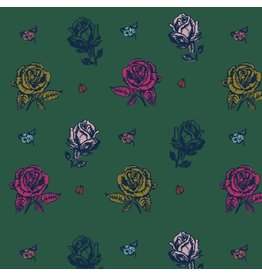 Nathalie Lété Sunday in the Country, Picking Roses in Sophie, Fabric Half-Yards PWNL012